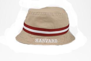 Khaki Harvard Bucket Hat
