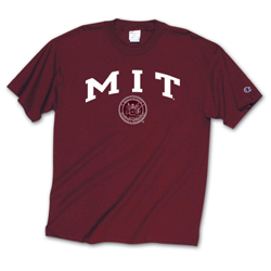 MIT Maroon Youth T Shirt