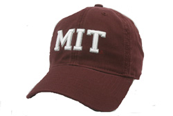 MIT Maroon Foam Design Hat