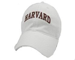 Harvard  Women's White Foam Design Hat