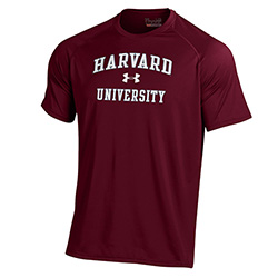 Under Armour Harvard Maroon T Shirt