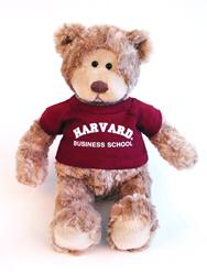 Wally Harvard Business School Teddy Bear by Gund