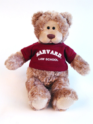 Wally Harvard Law School Teddy Bear by Gund