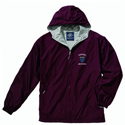 Men's Maroon Portsmouth Harvard Law  Full-Zip Jacket