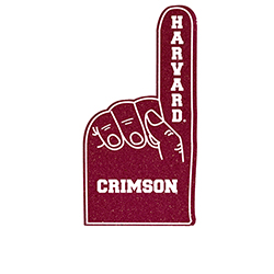 Harvard Mini Foam Finger