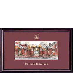 Elite Harvard Yard Lithograph