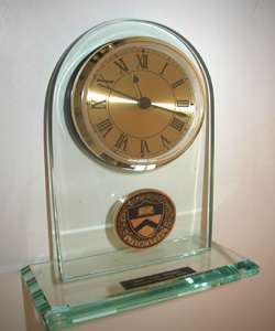 Heritage Academic & Recognition Harvard Desk Clock