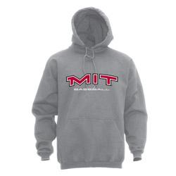 MIT Hooded Grey Baseball Sweatshirt