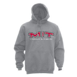 MIT Hooded Grey Track & Field Sweatshirt