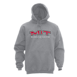 MIT Hooded Grey Swimming & Diving Sweatshirt