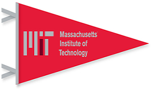 MIT Contemporary  12 x 30 Red Pennant