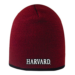 Harvard Crimson Hat w/ Black Stripe