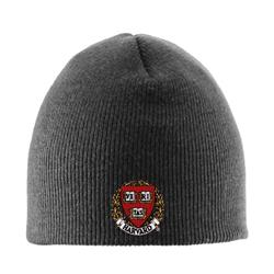Charcoal Knit Skull Hat