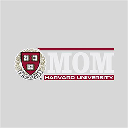 Harvard Mom Rectangular Outside Decal