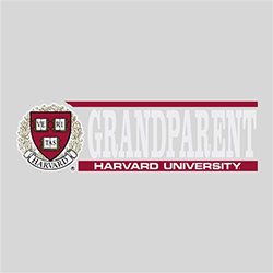 Harvard Grandparent Rectangular Outside Decal