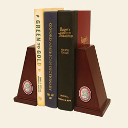 Masterpiece MIT Medallion Bookends