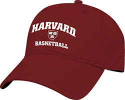 Harvard Basketball Maroon Hat