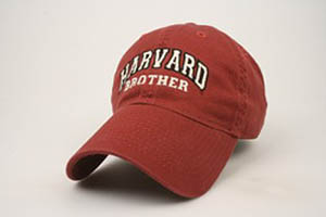 Burgundy Unstructured Harvard Brother Hat