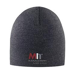 MIT Sloan School of Management Granite Knit hat