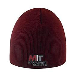 MIT Sloan  School of Management Maroon  Knit hat