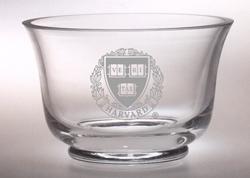 Harvard Veritas Revere Crystal Bowl