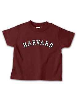 Maroon Toddler  Harvard T Shirt