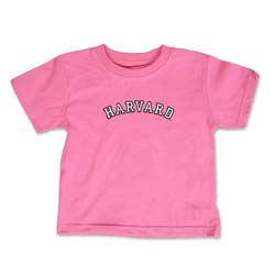 Harvard Pink Toddler T Shirt