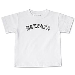 White Infant HarvardT Shirt