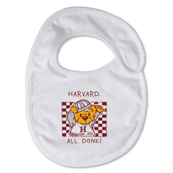 "Harvard ""All Done"" Bib"