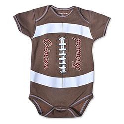 Harvard Football Infant Onsie
