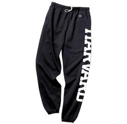 Classic  Harvard Black Sweatpants
