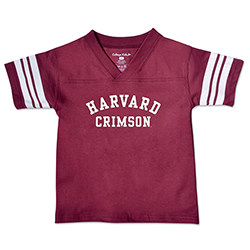 Harvard Toddler Maroon Football T Shirt