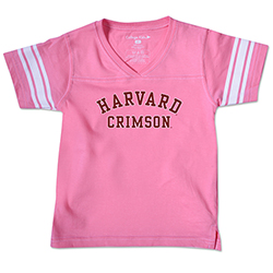 Harvard Pink Toddler Sport  T Shirt