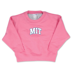 MIT Crew Toddler Pink Sweatshirt