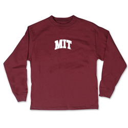Maroon Toddler MIT Long Sleeve T Shirt