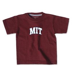 Toddler MIT Maroon T Shirt