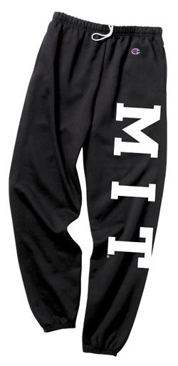 MIT Black Sweatpants