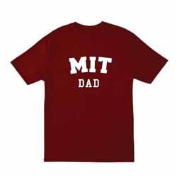 MIT Dad Cardinal  T Shirt
