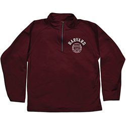 Harvard Youth Maroon Relay 1/4 Zip Jacket