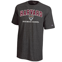 Versa Twill Harvard Business School Graphite T Shirt