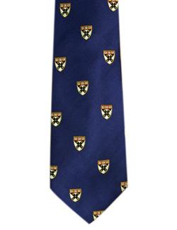 Harvard Navy Business School Shield Tie