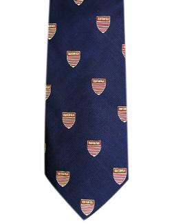 Harvard Kennedy School of Government Navy Tie