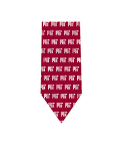 Vineyard Vines Red MIT Silk Tie