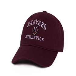 Harvard Athletics Maroon Hat w/ H Shield