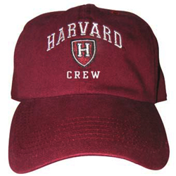 Harvard Crew Athletic Shield  Burgundy Hat