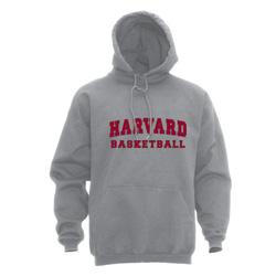 Harvard Gray Basketball Hooded Sweatshirt