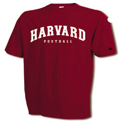 Youth Crimson Football T Shirt