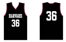 Youth Replica Harvard Basketball Jersey