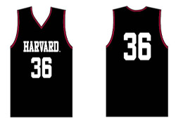 Adult Replica Harvard Basketball Jersey