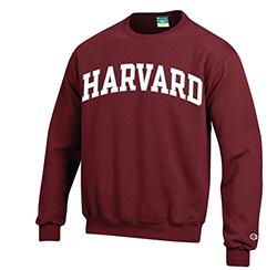 Maroon Crew Harvard Sweatshirt